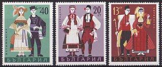 ブルガリア・民族衣装・1968(6)