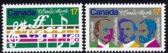 カナダ・O.Canadaの譜面・1980(2)