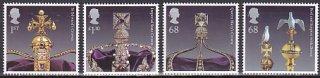 イギリス・王冠の宝石・切手・2011(8)