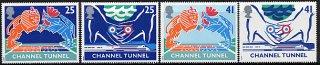 イギリス・海峡トンネル・切手・1994(4)