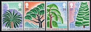 イギリスの切手・王立キューガーデン150年・1990(4)