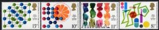 イギリスの切手・王立科学協会100年・1977(4)