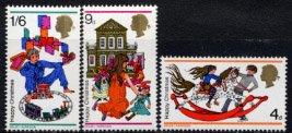 イギリスの切手・クリスマス・1968(3)