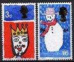 イギリスの切手・クリスマス・1966(2)