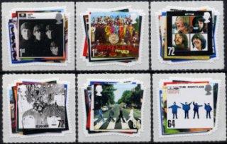 イギリスの切手・ビートルズ・2007(6)セルフ糊