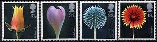 イギリスの切手・花・1987(4)