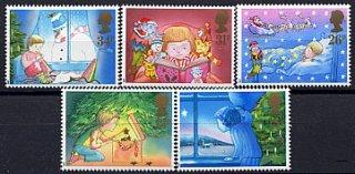 イギリスの切手・クリスマス・子ども・1987(5)