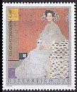 オーストリアの切手・クリムト誕生150年・2012