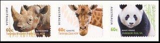 オーストラリアの切手・動物園・2012(6)セルフ糊