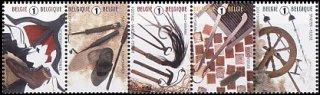 ベルギー・消えゆく伝統工芸品・切手・2010(5)