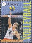 ベルギーの切手・女子バレーボールチーム・切手・2015