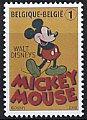 ベルギー・ミッキーマウス・切手・2008
