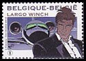ベルギー・ジュニア郵政・ラルゴヴィンチ・切手・2010