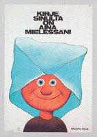 フィンランド郵便博物館・ポストカード・封筒と子ども