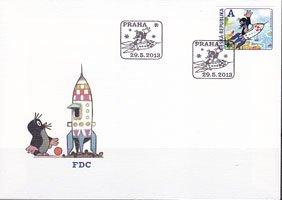 チェコの切手・クルテク・2013・FDC