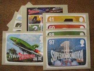 ポストカード・イギリス・サンダーバード・ポストカード11枚セット・2010
