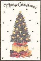 ロンドン・クリスマスカード・ツリー
