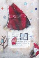 Kaori Ishizaka・クリスマスポストカード・家