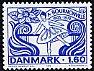 デンマークの切手・ブルノンヴィル100年・1979