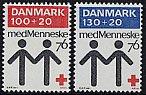 デンマークの切手・赤十字・1976(2)