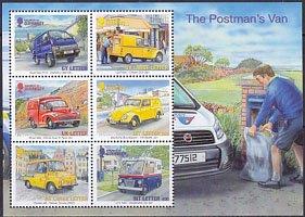 グアンジーの切手・ヨーロッパ・郵便車・S/S・2013