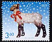 エストニアの切手・クリスマス・ひつじ・2002