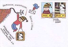 ポーランド・絵本のキャラクター・2011・FDC