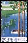 フィンランドの切手・ヨーロッパ・観光・2012(2)
