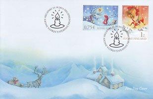 フィンランド・クリスマス2014・FDC