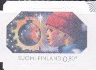 フィンランドの切手・クリスマス・2015(2)セルフ糊