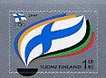 フインランドの切手・オリンピック委員会100年・2007