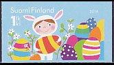 フィンランドの切手・イースター・2014(セルフ糊)