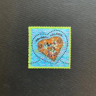 フランスの切手・バレンタイン・ラクロワ・2001