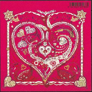 フランスの切手・エルメス・バレンタイン小型シート・2013