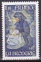 フランスの切手・トゥリ画・刺繍・1980