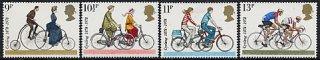 イギリスの切手・自転車の歴史・1978(4)
