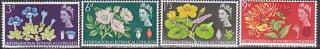 イギリスの切手・植物学会議・1964(4)