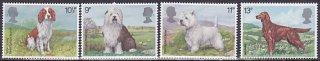イギリスの犬・切手・1979年(4)