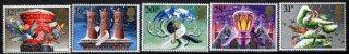 イギリスの切手・クリスマス・鳩・1983(5)