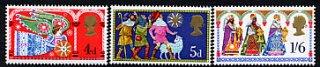 イギリスの切手・クリスマス・1969(3)B品
