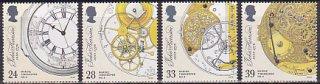 イギリスの切手・ハリソンの航海用時計・1993(4)