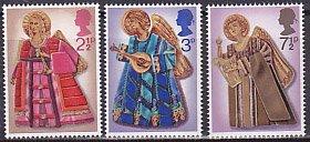 イギリスの切手・クリスマス・天使・1972(3)