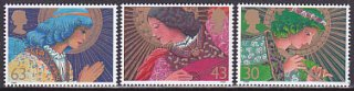 イギリスの切手・クリスマス・天使・1998(5)