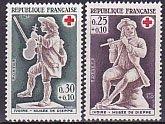 フランスの切手・赤十字・1967(2)