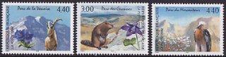 フランスの切手・国立公園・1996(3)