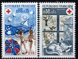 フランスの切手・赤十字1974(2)