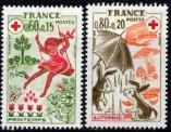 フランスの切手・赤十字1975(2)