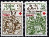 フランスの切手・赤十字・1978(2)