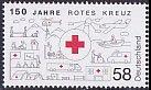 ドイツの切手・赤十字150年・2013