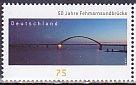 ドイツの切手・フェーマルズント橋50年・2013